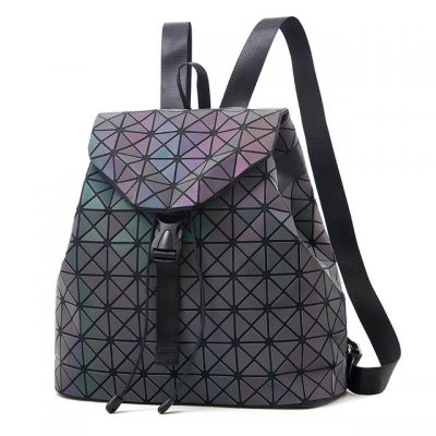 Rucsac Dama Model Geometric Fosforescent